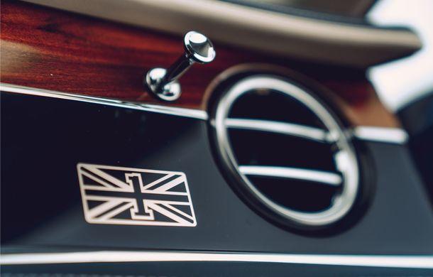 Bentley prezintă seria limitată Flying Spur First Edition: producția va începe la sfârșitul lui 2019 - Poza 9