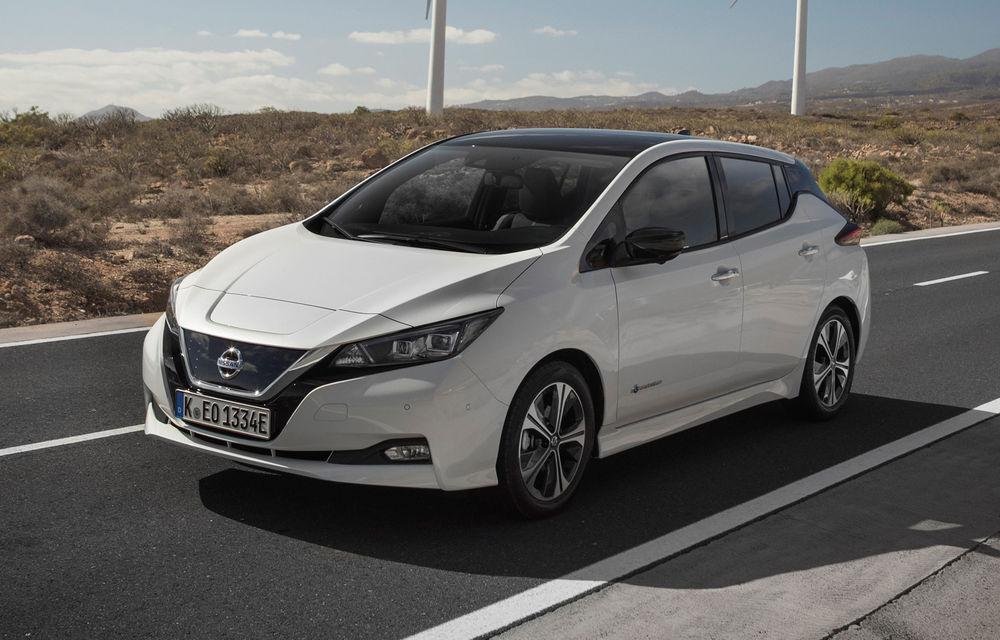 Nissan Leaf a fost cea mai vândută mașină electrică în România în primele 6 luni ale anului: 169 de clienți au ales modelul japonez - Poza 1