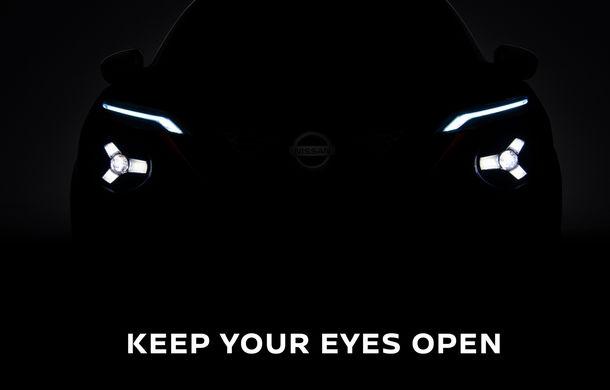 Nissan publică încă un teaser pentru noua generație Juke: prezentarea va avea loc în 3 septembrie - Poza 1