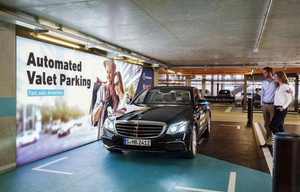 Mercedes-Benz a dezvoltat primul sistem de parcare autonomă fără supraveghere umană: tehnologia va fi testată la Stuttgart - Poza 2