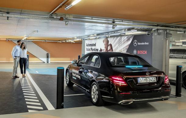 Mercedes-Benz a dezvoltat primul sistem de parcare autonomă fără supraveghere umană: tehnologia va fi testată la Stuttgart - Poza 4