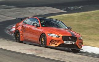 Mai bun decât el însuși: Jaguar XE SV Project 8 și-a doborât propriul timp de la Nurburgring