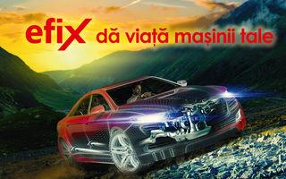 #RomanianRoads by Michelin: cele 7 mașini sportive cu care vom vizita cele mai frumoase șosele din țară vor fi alimentate cu carburanți Efix de la Rompetrol