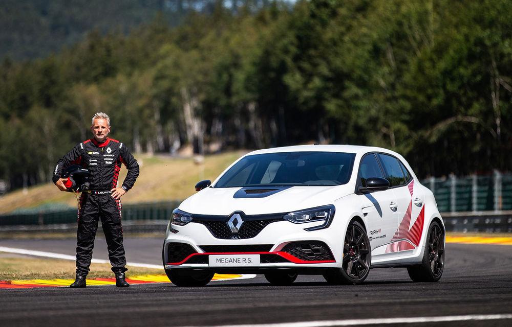 Renault Megane RS Trophy-R a cucerit circuitul Spa-Francorchamps: Hot Hatch-ul cu 300 CP a devenit cel mai rapid model de serie cu roți motrice față de pe circuitul belgian - Poza 4