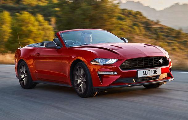 Ford Mustang aniversează 55 de ani: americanii au pregătit ediția specială Mustang55 și o serie de modificări pentru varianta echipată cu motorul de 2.3 litri - Poza 3
