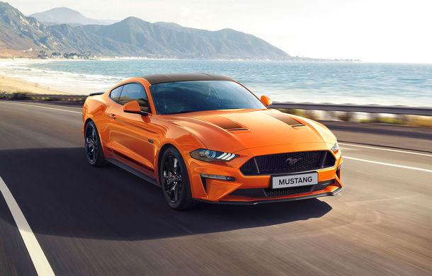 Ford Mustang aniversează 55 de ani: americanii au pregătit ediția specială Mustang55 și o serie de modificări pentru varianta echipată cu motorul de 2.3 litri - Poza 1