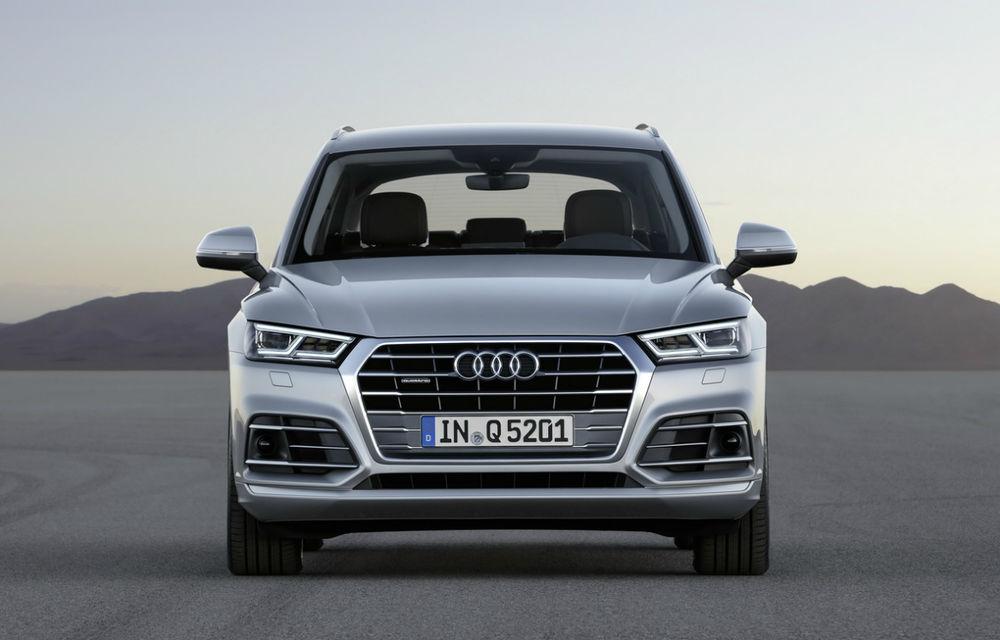 Informații despre viitorul Audi Q5 facelift: mici modificări estetice, un interior îmbunătățit și motorizări mild-hybrid - Poza 1