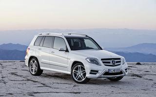 Aproape 900 de unități Mercedes-Benz GLK, rechemate în service în România: SUV-ul va primi un nou software pentru emisii