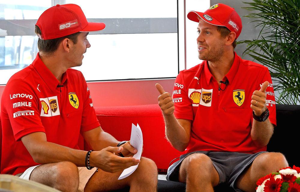 Ferrari a dominat antrenamentele de Formula 1 din Germania: Vettel și Leclerc au fost cei mai rapizi - Poza 1
