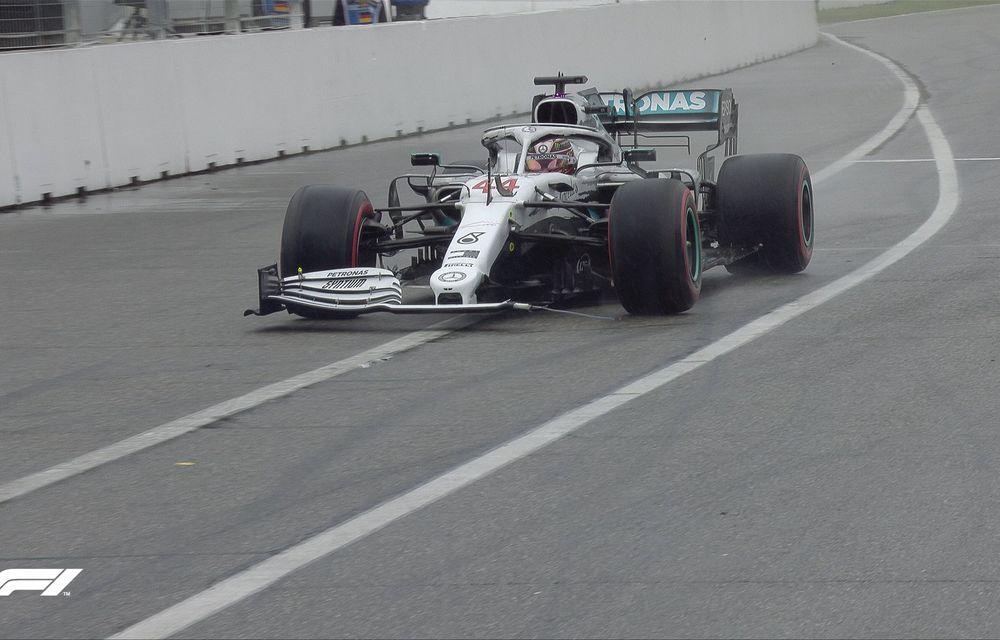 Verstappen a câștigat pe ploaie cursa de la Hockenheim în fața lui Vettel! Leclerc și Bottas au abandonat, Hamilton a terminat pe 11 - Poza 5
