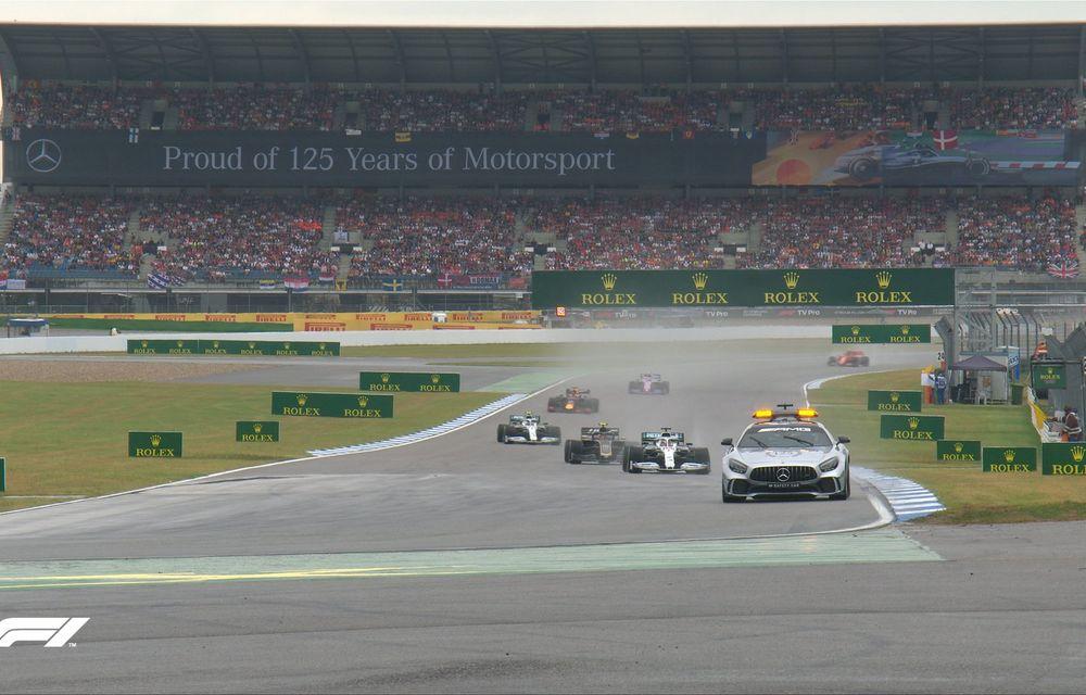Verstappen a câștigat pe ploaie cursa de la Hockenheim în fața lui Vettel! Leclerc și Bottas au abandonat, Hamilton a terminat pe 11 - Poza 3