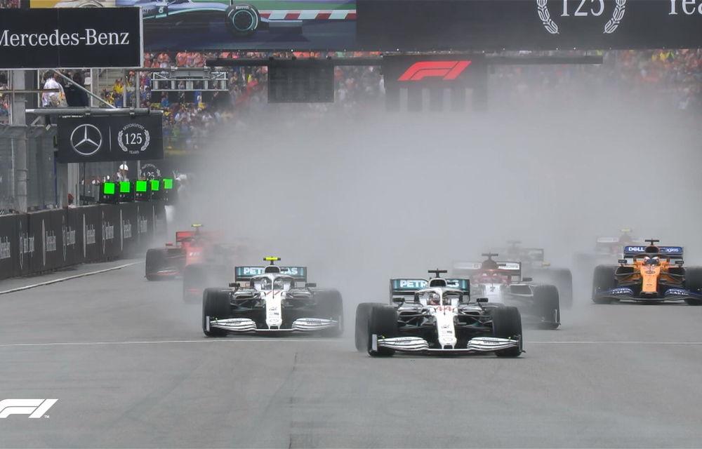 Verstappen a câștigat pe ploaie cursa de la Hockenheim în fața lui Vettel! Leclerc și Bottas au abandonat, Hamilton a terminat pe 11 - Poza 2
