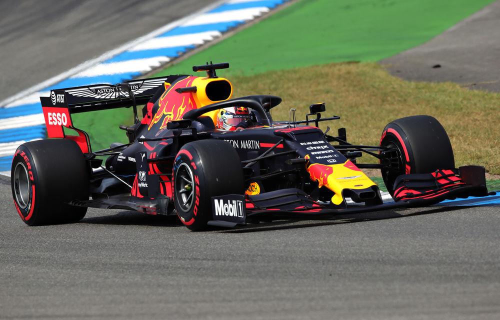 Verstappen a câștigat pe ploaie cursa de la Hockenheim în fața lui Vettel! Leclerc și Bottas au abandonat, Hamilton a terminat pe 11 - Poza 1