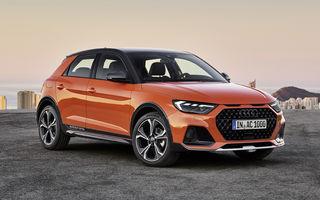 Audi prezintă noul A1 Citycarver: crossover bazat pe A1 Sportback cu o gardă la sol cu 4 centimetri mai înaltă