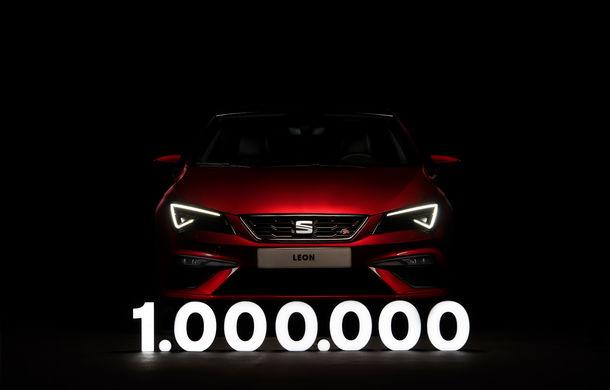 Motive de sărbătoare pentru Seat: actuala generație Leon a ajuns la un milion de unități comercializate - Poza 1