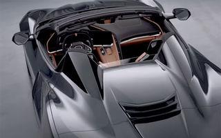 Primul teaser video cu versiunea cabrio a noului Corvette: modelul va fi prezentat în toamna acestui an