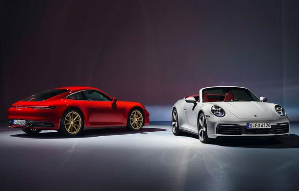 Porsche lansează noile 911 Carrera și 911 Carrera Cabrio: motorul de 3.0 litri oferă 385 CP și 450 Nm - Poza 1