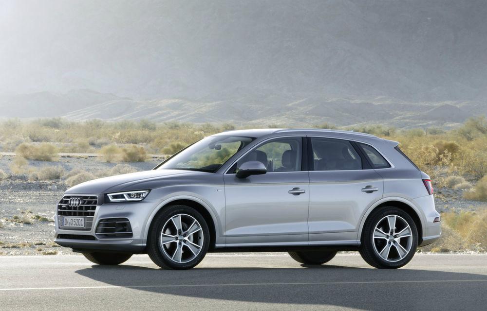 Audi recheamă 572 de unități Q5 în service în România: măștile pasajelor roților se pot desprinde - Poza 1