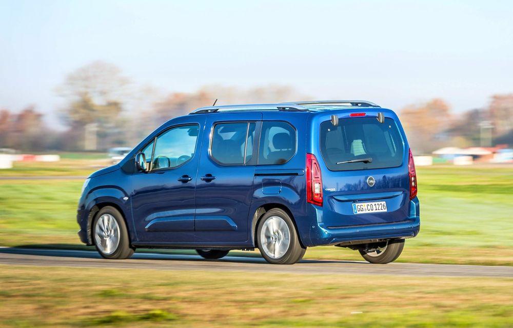 Opel Combo Life primește o nouă versiune cu motor pe benzină: 1.2 litri cu 130 CP și transmisie automată cu opt rapoarte - Poza 4