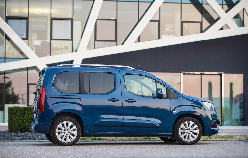 Opel Combo Life primește o nouă versiune cu motor pe benzină: 1.2 litri cu 130 CP și transmisie automată cu opt rapoarte - Poza 3