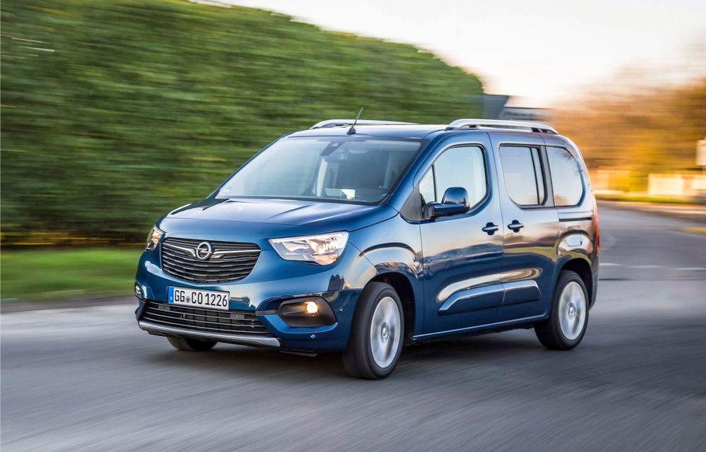 Opel Combo Life primește o nouă versiune cu motor pe benzină: 1.2 litri cu 130 CP și transmisie automată cu opt rapoarte - Poza 2