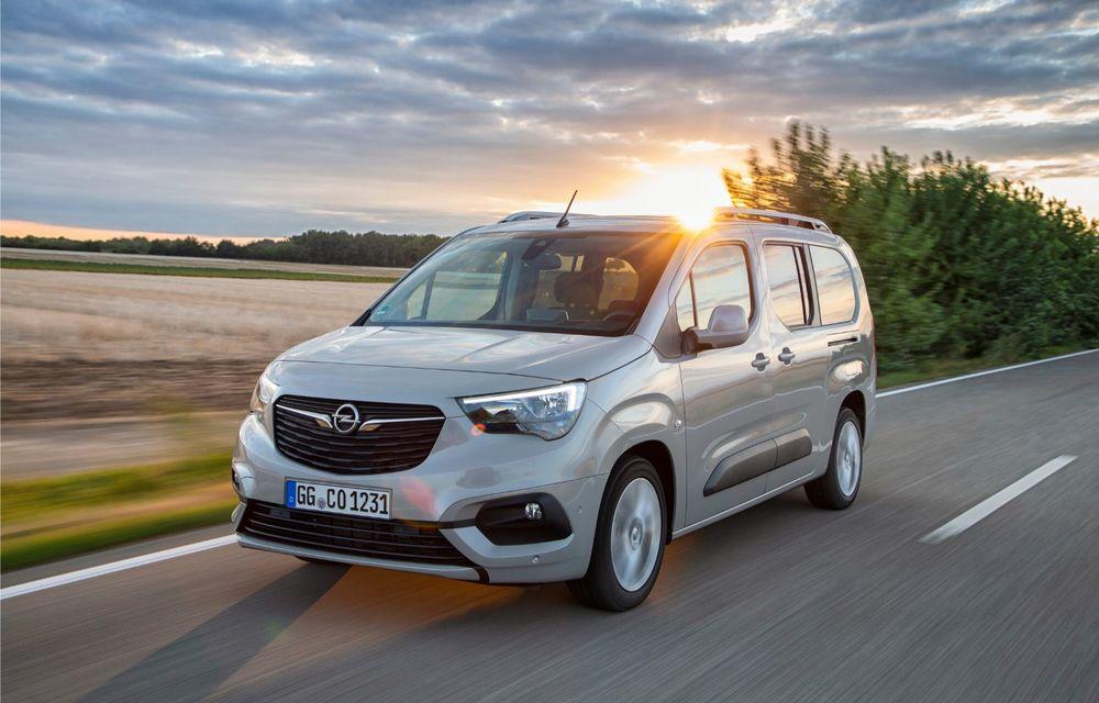 Opel Combo Life primește o nouă versiune cu motor pe benzină: 1.2 litri cu 130 CP și transmisie automată cu opt rapoarte - Poza 5