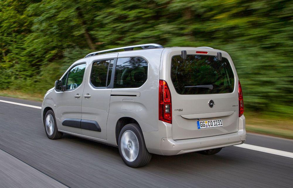Opel Combo Life primește o nouă versiune cu motor pe benzină: 1.2 litri cu 130 CP și transmisie automată cu opt rapoarte - Poza 6