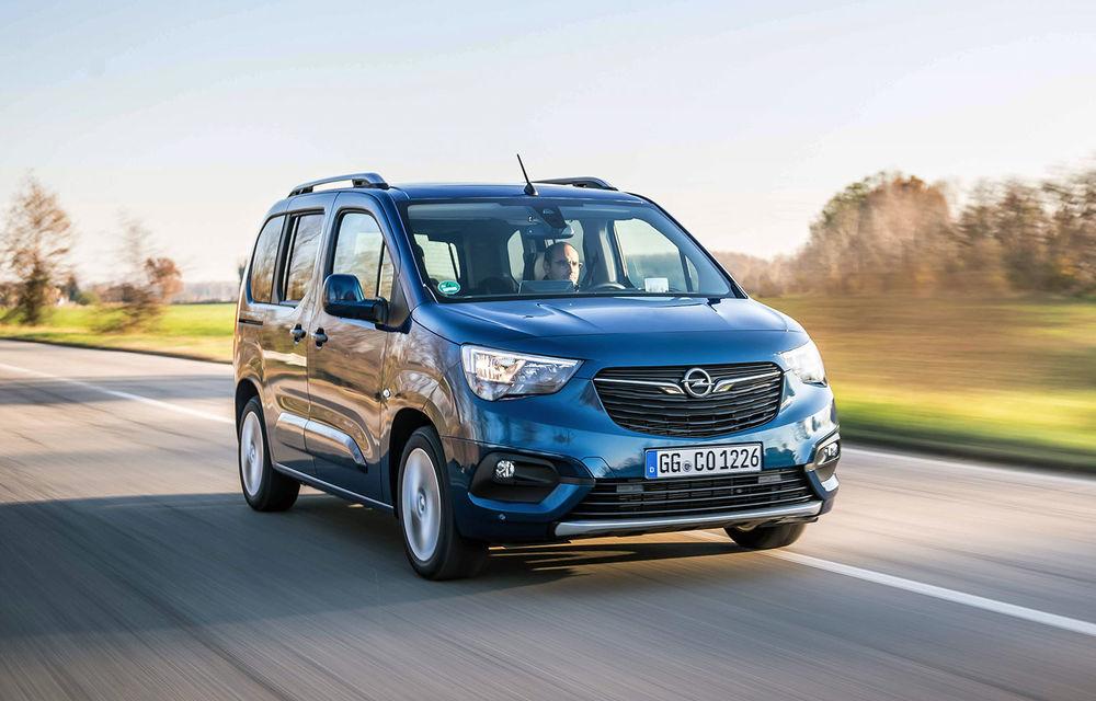Opel Combo Life primește o nouă versiune cu motor pe benzină: 1.2 litri cu 130 CP și transmisie automată cu opt rapoarte - Poza 1