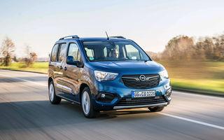 Opel Combo Life primește o nouă versiune cu motor pe benzină: 1.2 litri cu 130 CP și transmisie automată cu opt rapoarte