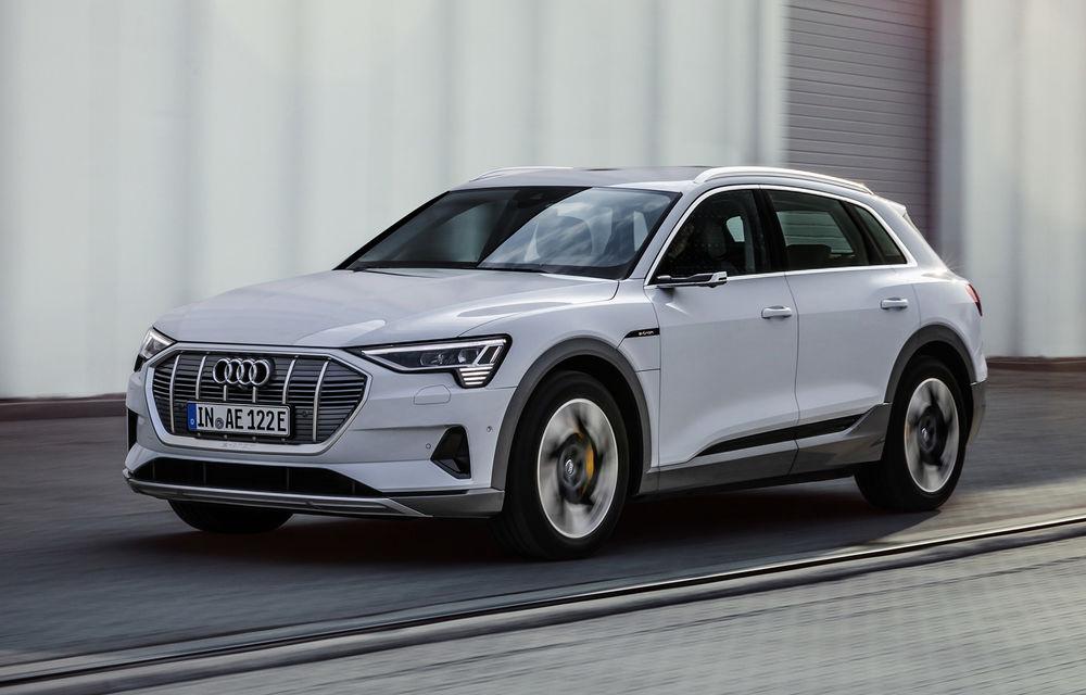 Audi e-tron va avea o versiune de bază: SUV-ul electric va fi disponibil într-o variantă cu 313 cai putere și autonomie de 300 de kilometri - Poza 1