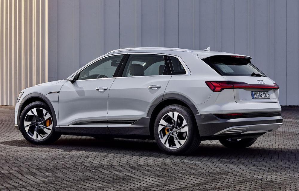 Audi e-tron va avea o versiune de bază: SUV-ul electric va fi disponibil într-o variantă cu 313 cai putere și autonomie de 300 de kilometri - Poza 9