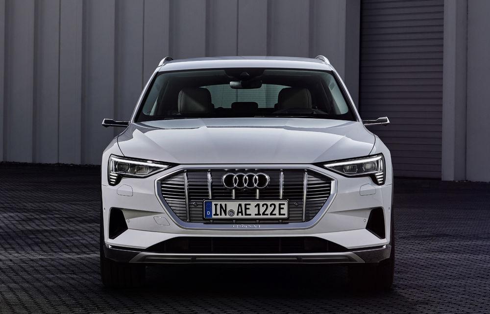 Audi e-tron va avea o versiune de bază: SUV-ul electric va fi disponibil într-o variantă cu 313 cai putere și autonomie de 300 de kilometri - Poza 7
