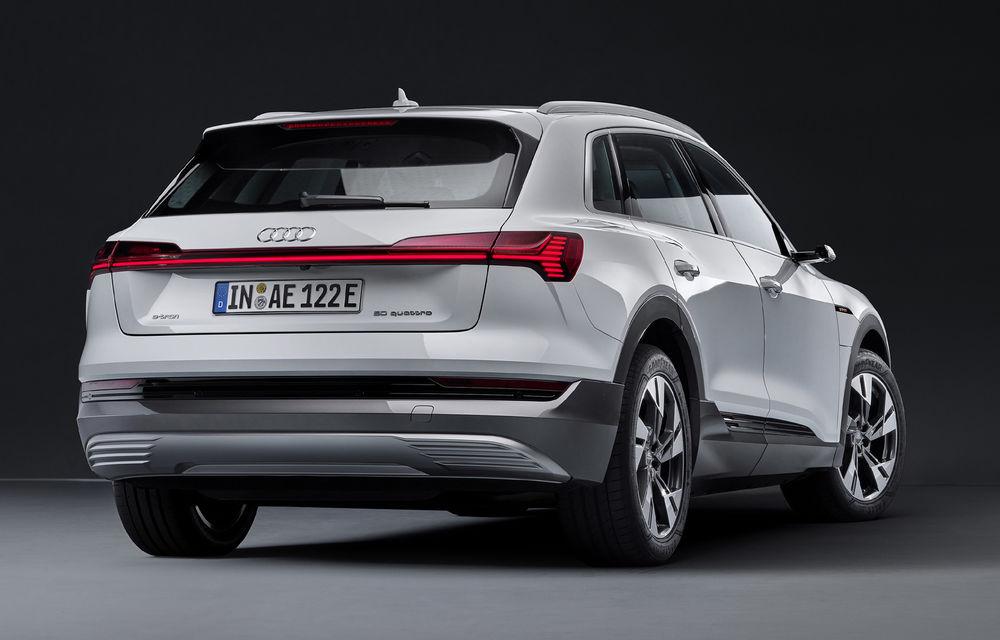 Audi e-tron va avea o versiune de bază: SUV-ul electric va fi disponibil într-o variantă cu 313 cai putere și autonomie de 300 de kilometri - Poza 4