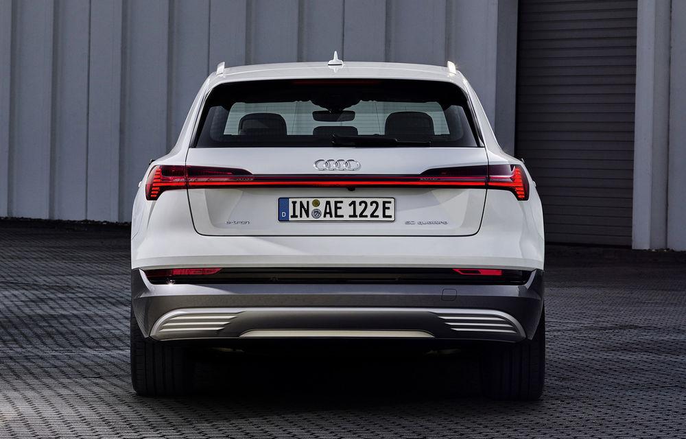 Audi e-tron va avea o versiune de bază: SUV-ul electric va fi disponibil într-o variantă cu 313 cai putere și autonomie de 300 de kilometri - Poza 6