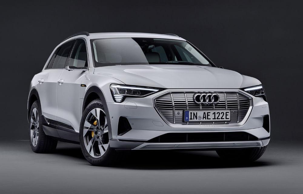 Audi e-tron va avea o versiune de bază: SUV-ul electric va fi disponibil într-o variantă cu 313 cai putere și autonomie de 300 de kilometri - Poza 5