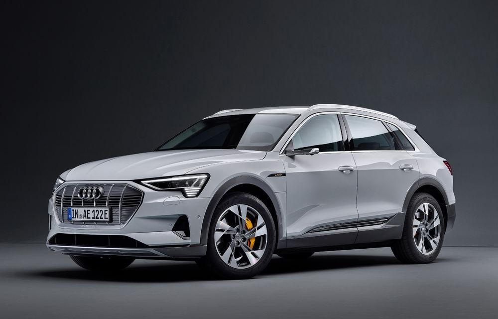 Audi e-tron va avea o versiune de bază: SUV-ul electric va fi disponibil într-o variantă cu 313 cai putere și autonomie de 300 de kilometri - Poza 10