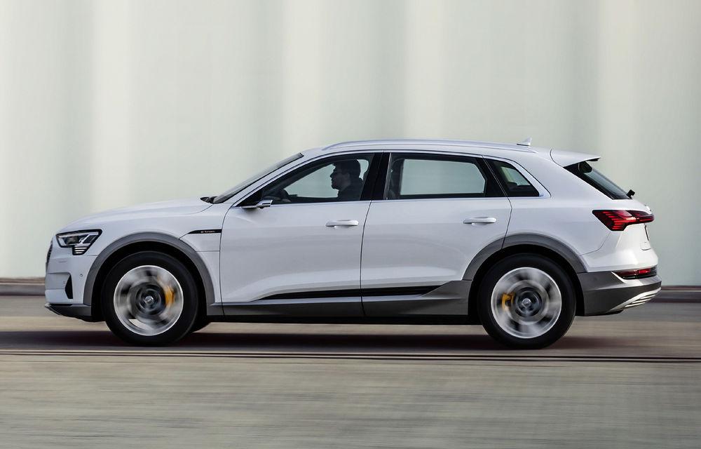 Audi e-tron va avea o versiune de bază: SUV-ul electric va fi disponibil într-o variantă cu 313 cai putere și autonomie de 300 de kilometri - Poza 3