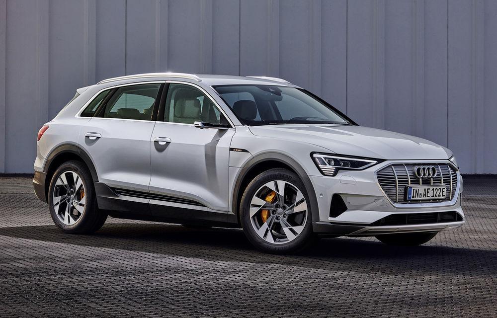 Audi e-tron va avea o versiune de bază: SUV-ul electric va fi disponibil într-o variantă cu 313 cai putere și autonomie de 300 de kilometri - Poza 8