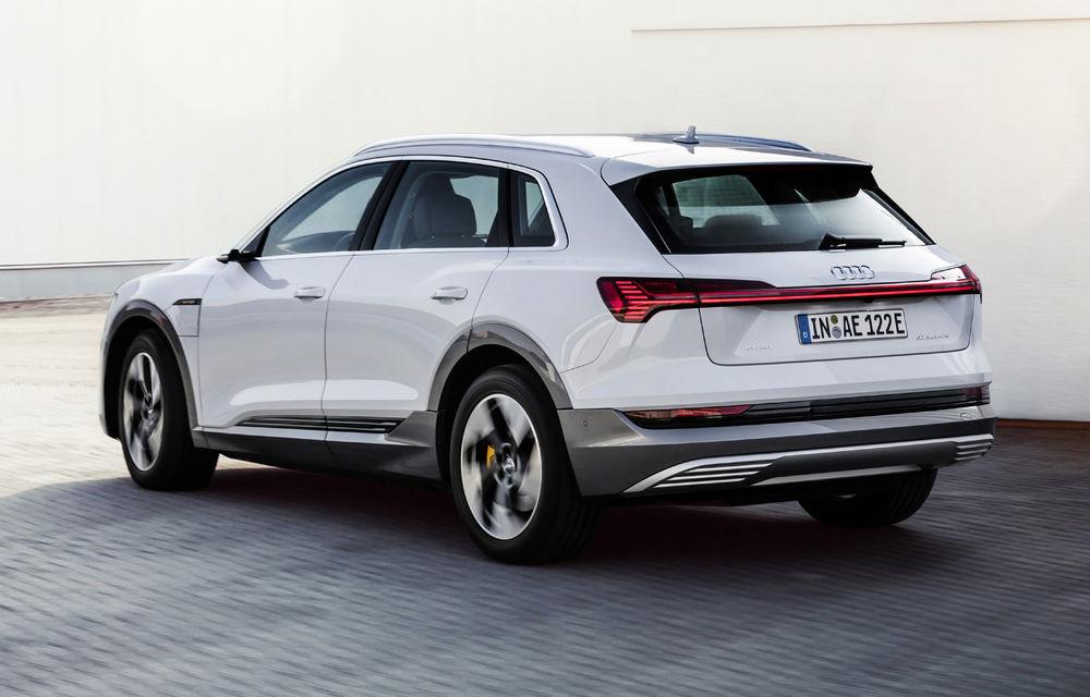 Audi e-tron va avea o versiune de bază: SUV-ul electric va fi disponibil într-o variantă cu 313 cai putere și autonomie de 300 de kilometri - Poza 2