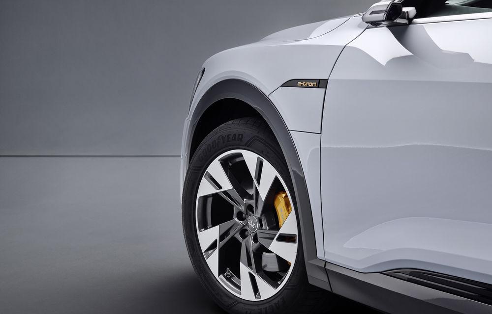Audi e-tron va avea o versiune de bază: SUV-ul electric va fi disponibil într-o variantă cu 313 cai putere și autonomie de 300 de kilometri - Poza 12