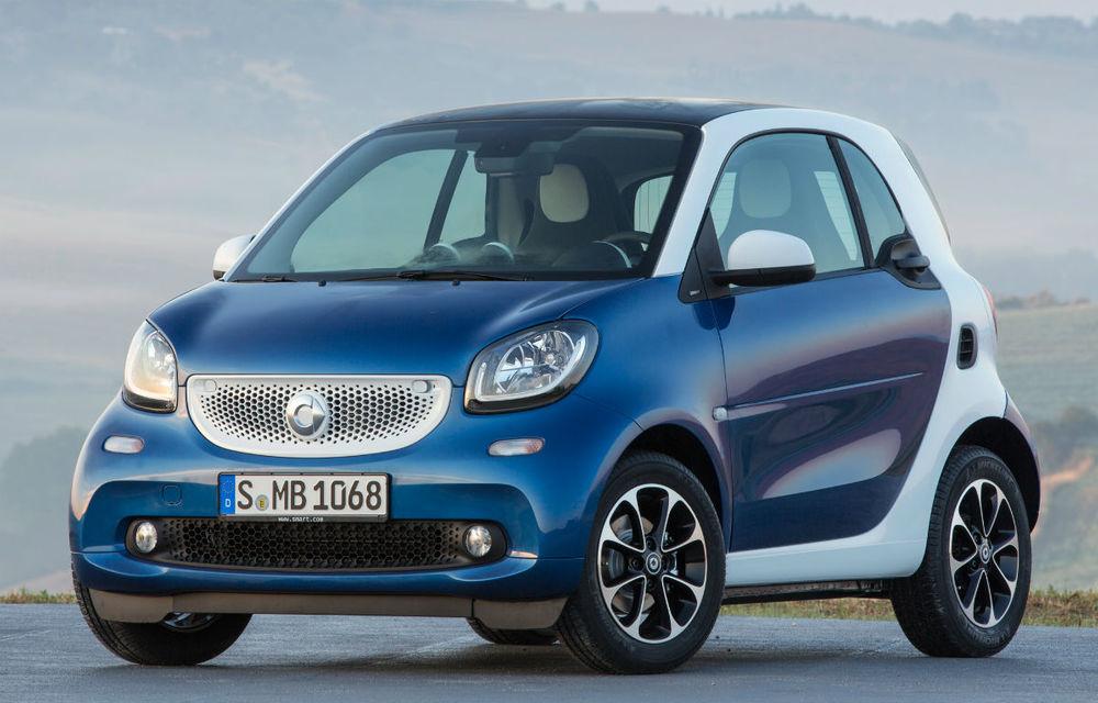 Smart Fortwo și Forfour vor primi facelift-uri în septembrie: modelele de oraș ar putea rămâne doar cu versiunile electrice - Poza 1