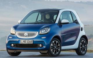 Smart Fortwo și Forfour vor primi facelift-uri în septembrie: modelele de oraș ar putea rămâne doar cu versiunile electrice