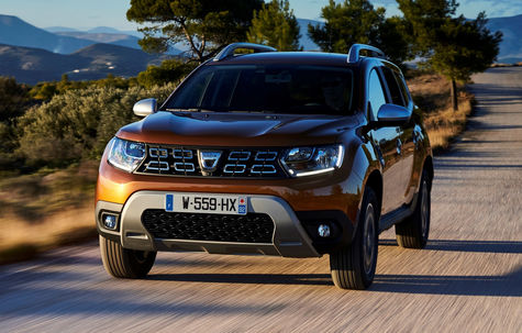 Dacia Duster gets a one-liter TCe gasoline engine and 100 hp: The