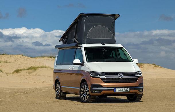 Volkswagen a prezentat California T6.1: autorulota producătorului german primește mici modificări estetice și îmbunătățiri la interior - Poza 1