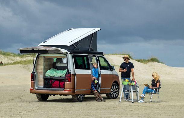 Volkswagen a prezentat California T6.1: autorulota producătorului german primește mici modificări estetice și îmbunătățiri la interior - Poza 3