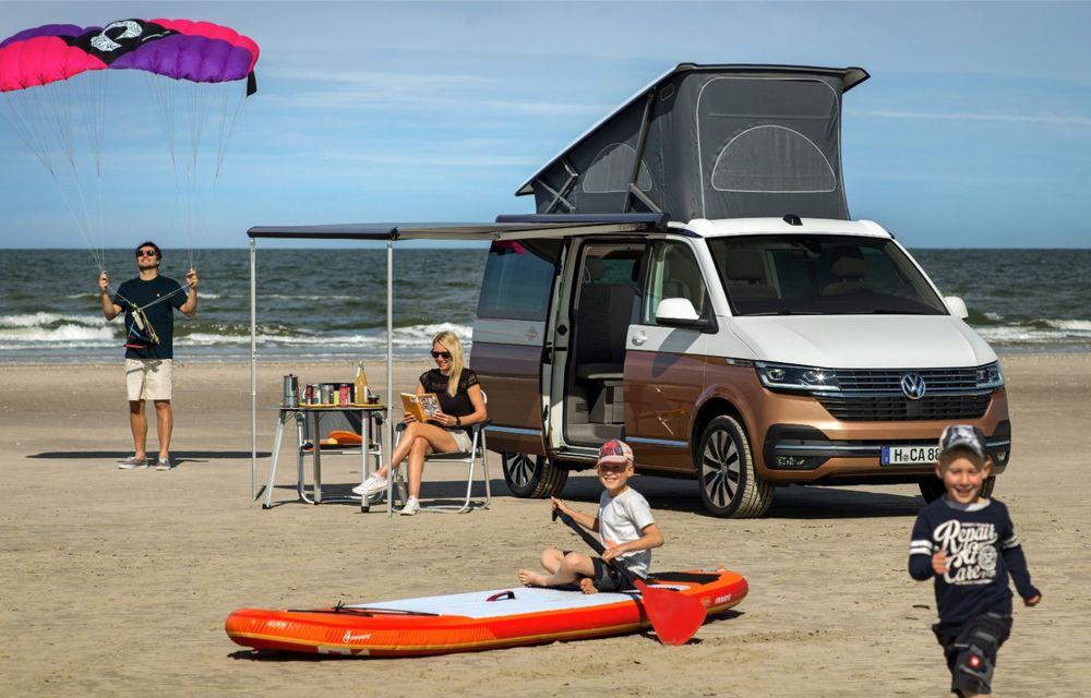 Volkswagen a prezentat California T6.1: autorulota producătorului german primește mici modificări estetice și îmbunătățiri la interior - Poza 4