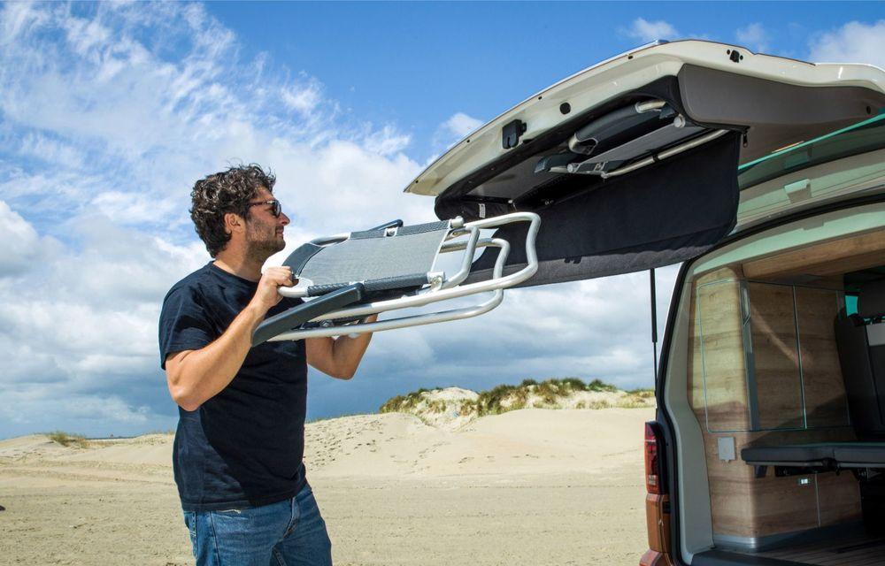 Volkswagen a prezentat California T6.1: autorulota producătorului german primește mici modificări estetice și îmbunătățiri la interior - Poza 6