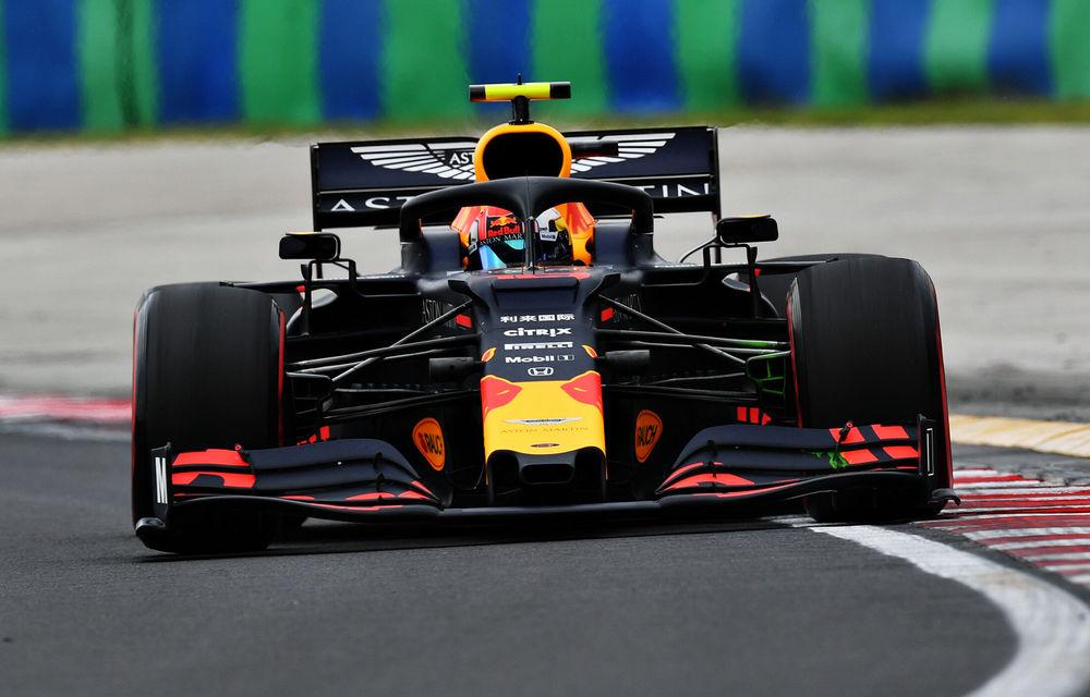 Red Bull oferă indicii că poate lupta pentru victorie la Hungaroring: Hamilton și Gasly, cei mai rapizi în antrenamente - Poza 1