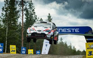 Estonianul Ott Tanak câștigă Raliul Finlandei:  Esapekka Lappi și Jari-Matti Latvala au completat podiumul