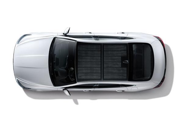 Hyundai lansează primul său vehicul cu panouri fotovoltaice: energia solară încarcă până la 60% din bateria electrică - Poza 2